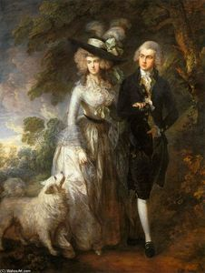 Thomas Gainsborough - M. et Mme William Hallett («Le Matin Walk»)
