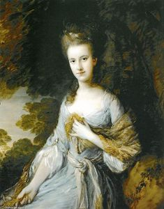 Thomas Gainsborough - Portrait de Sarah Buxton