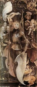 Achat Reproductions D'art | Quatorze Saints Retable ( détail ), 1503 de Matthias Grünewald (1480-1528, Germany) | WahooArt.com