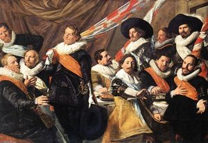Frans Hals - Banquet des officiers de la St George Civic Guard Société