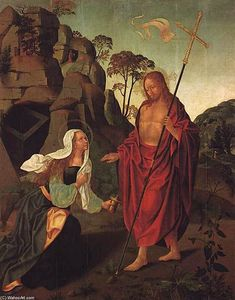 Francisco Henriques - Apparition du Christ à la Madeleine