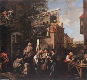 William Hogarth - Solliciter Votes