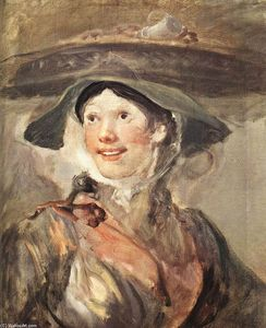 William Hogarth - le crevette fille