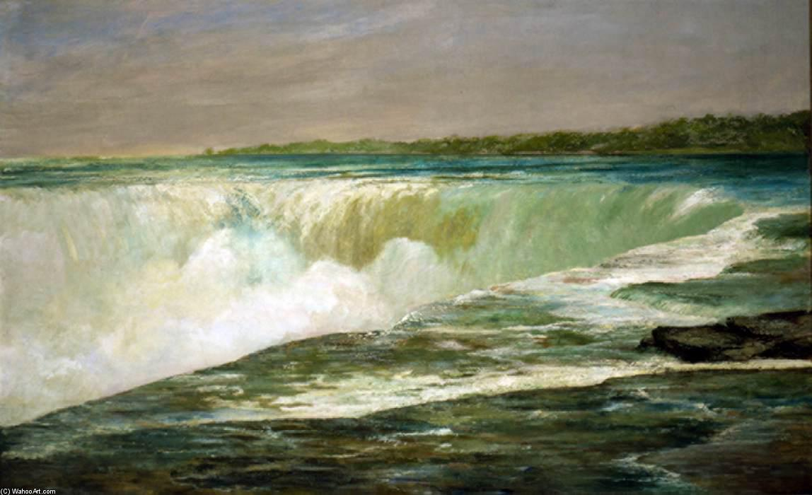 niagara les chutes, 1878 de William Morris Hunt (1824-1879, United States) | Reproductions D'art De Musée William Morris Hunt | WahooArt.com