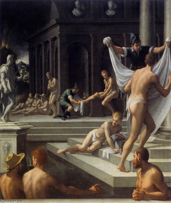 En el baño - Página 2 Girolamo-Macchietti-Baths-at-Pozzuoli-2-