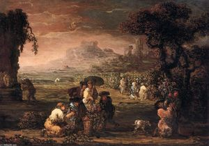 Joos De Momper The Younger - Vendanges