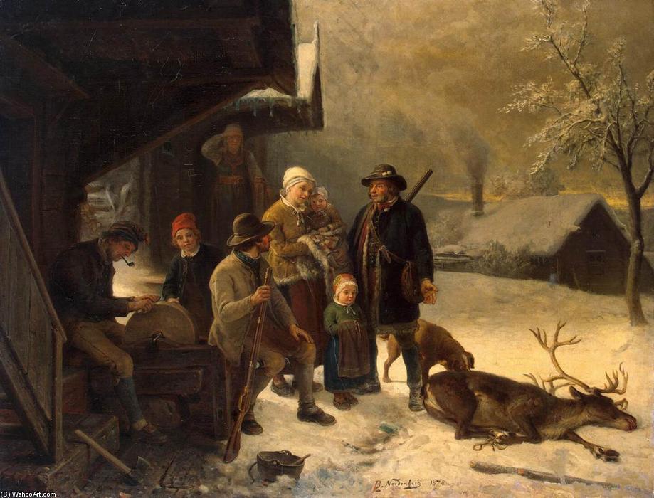 Acheter Bengt Nordenberg : Morte Stag -- Acheter Impression sur toile Bengt Nordenberg : Morte Stag -- Acheter Poster Bengt Nordenberg : Morte Stag
