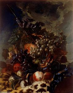 Luis Paret Y Alcázar - nature morte avec fruits