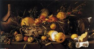 Antonio De Pereda - nature morte avec fruits