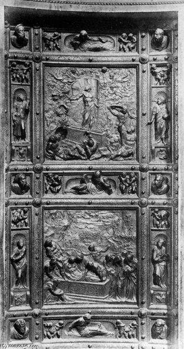 Sacristie porte bronze de jacopo sansovino 1486 1570 italy for Puerta 8 san marcos