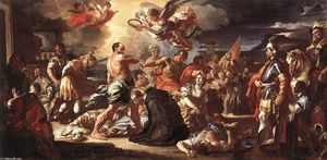 Francesco Solimena - Le martyre des saints Placidus et Flavia