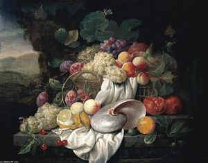 Joris Van Son - nature morte de fruits