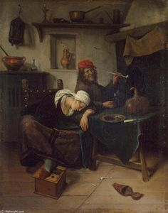 Jan Steen - le buveur