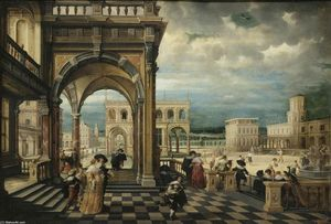Hendrick Van The Younger Steenwyck - italien palais
