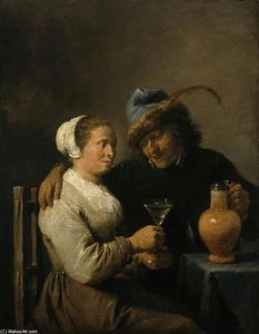 David The Younger Teniers - Scène Tavern