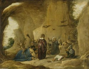 David The Younger Teniers - Tentation de saint Antoine