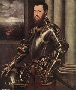 Tintoretto (Jacopo Comin) - Man in Armour