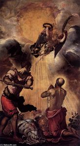 Tintoretto (Jacopo Comin) - le martyre of r Paul