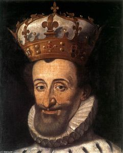 Santi Di Tito - Portrait à of Henry IV of France