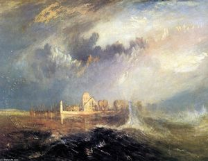 William Turner - Quillebeuf, à l embouchure de la Seine