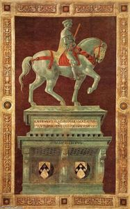 Paolo Uccello - Monument funéraire de Sir John Hawkwood