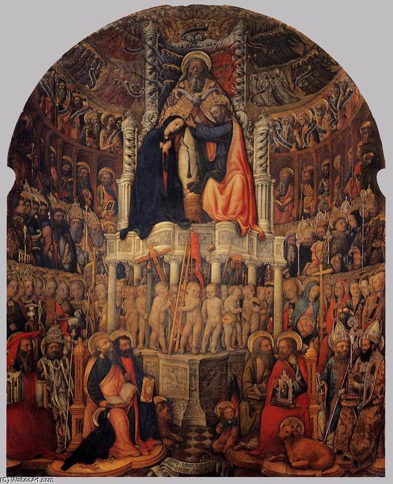 De La Vierge Dtrempe De Antonio Vivarini  Italy