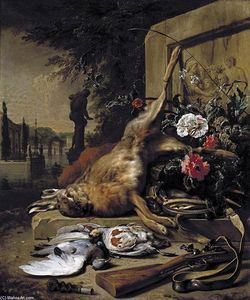 Jan Weenix - nature morte de jeu