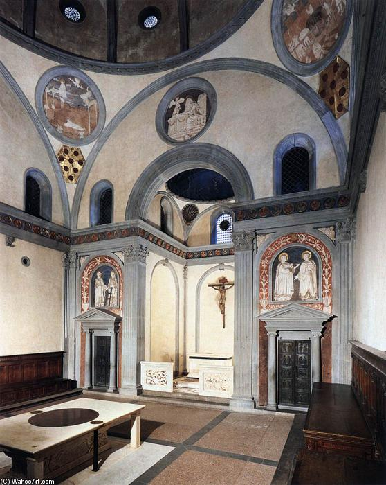 Brunelleschi Old Sacristy Vieille Sacristie, 141...