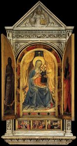 Fra Angelico - Linaioli Tabernacle (volets ouverts)