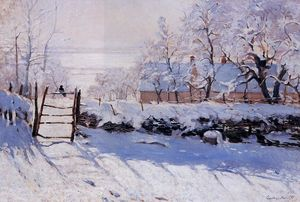 Claude Monet - Le Magpie