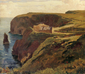 Lord Frederic Leighton - Malin Head, Donegal