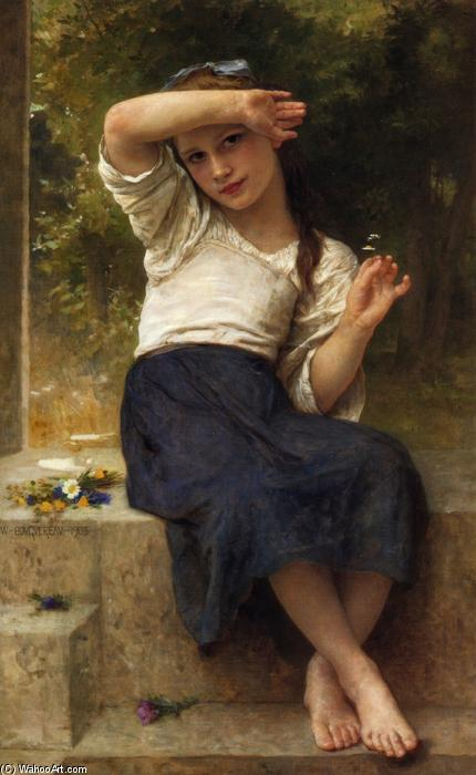 Marguerite, huile sur toile de William Adolphe Bouguereau (1825-1905, France)