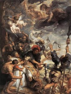 Peter Paul Rubens - le martyre of r . null