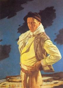 William Newenham Montague Orpen - L homme de Aran