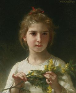 William Adolphe Bouguereau - Mimosa