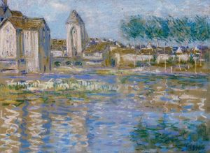 Alfred Sisley - Plus t sur loing
