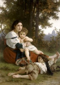 William Adolphe Bouguereau - la mère et enfants