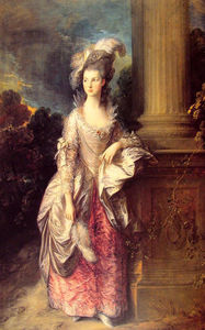 Thomas Gainsborough - Mme Graham