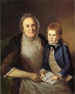 Charles Willson Peale - Mme James Smith et Grandson