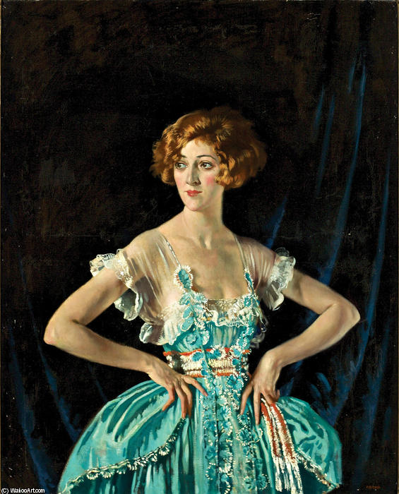 Mme Ruby Melville, 1920 de William Newenham Montague Orpen (1878-1931, Ireland)