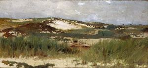 Abbott Handerson Thayer - Dune de sable Nantucket