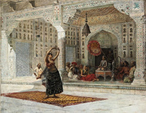 Edwin Lord Weeks - Le Nautch