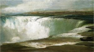 William Morris Hunt - niagara les chutes