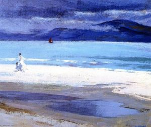 Francis Campbell Boileau Cadell - Le North End, Iona