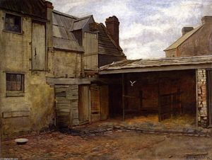 Frederick Mccubbin - Old Stables