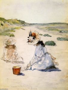 William Merritt Chase - Sur la plage, Shinnecock