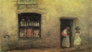 James Abbott Mcneill Whistler - Une note Orange: Sweet Shop