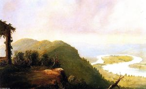 Frederic Edwin Church - Le Oxbow