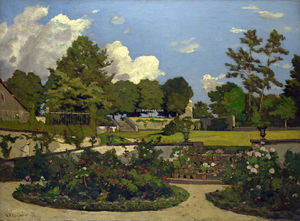 Henri-Joseph Harpignies - Le Painter's Jardin à Saint-Prive