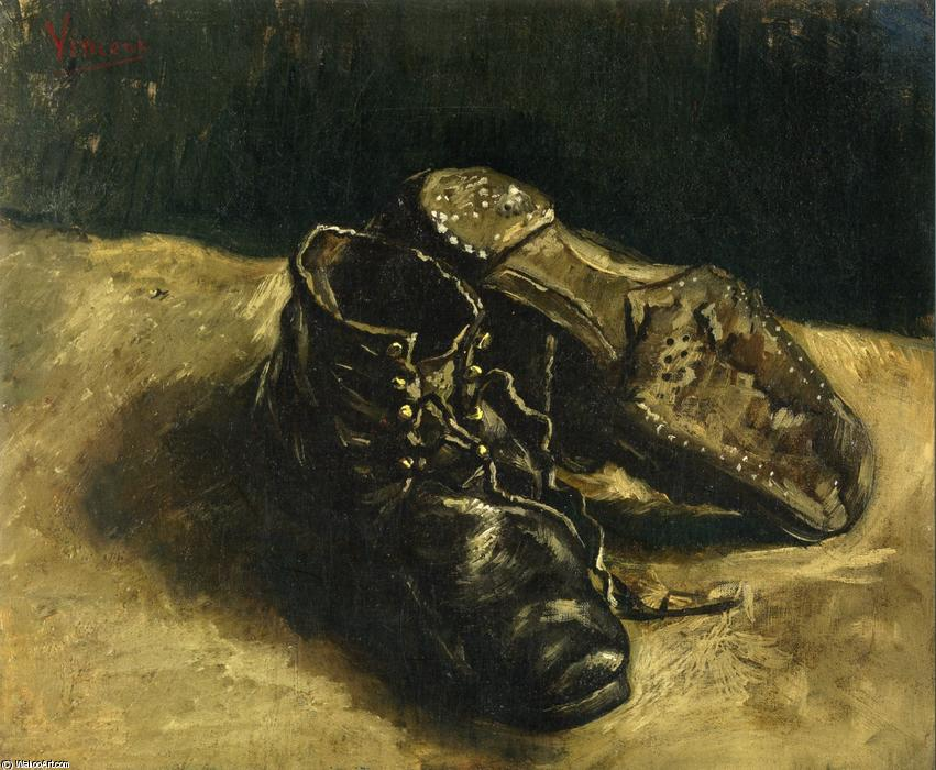 1886 Tableau Paire Chaussures Van Vincent Une Achat De Copie ORq4YBWwv